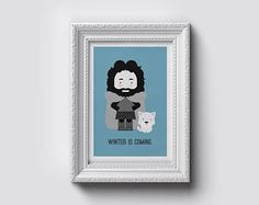 Winter is coming on your wall...
