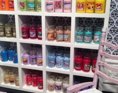 1:12 Scale Hand Crafted Miniature Jar Candle (30 colours to choose from)