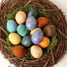 Natural Dyed Easter Eggs by debthompson