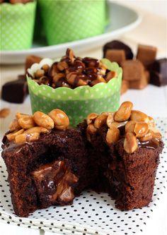 Schoko-Karamell-Cupcakes | Chocolate Caramel Cupcakes | süß und cremig - Foodblog