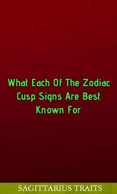 Cusp Signs