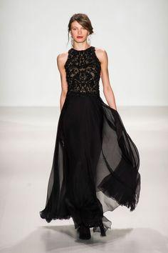 Défile Tadashi Shoji prêt-à-porter automne-hiver 2014-2015, New York #NYFW #Fashionweek