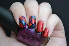 Nails by Kayla Shevonne: Jewel-toned Stained Glass Nails