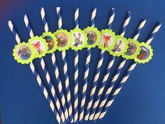 Disney Zootopia birthday party favor 12 by RockinPartyTreats