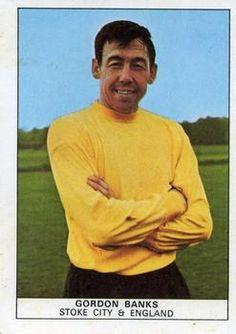 Football Cards, Football Soccer, Gordon Banks, Stoke City, Trading Card Database, Goalkeeper, Album, Stickers, Sports
