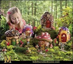 Decorating theme bedrooms - Maries Manor: fairy garden decorations ...