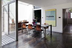 Remarkable transformation of a private house in London