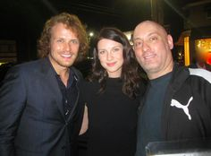Here are two new/old pics of Sam Heughan and Caitriona Balfe at the Miss Golden Globe dinner back in November. See the other after the jump! -  Source: 1 2via SamCait Life