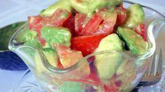Easy Avocado and Tomato Salad