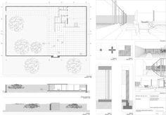 Mies van der Rohe | Casa con tres patios | 1931-1934