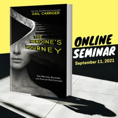 Online Webinar, Sept 11, 2021, Gail Carriger presents the heroine's journey as a tool for compelling narratives and voracious readers. Gail Carriger, Story Structure, Writers, Lust, Pop Culture, Presents, Journey, Author, Education
