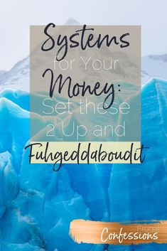 Looking for a bill organization system that will, among other things, cut down on paper clutter)? Instead of figuring out how to organize one, set these two systems ideas up and get WAY more organized in your money life. Set these up, and fuhgeddaboudit! | http://www.frugalconfessions.com/financial-health/set-up-these-2-systems-to-get-your-finances-running-in-the-background-of-your-life.php #FinanceBackground