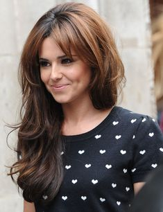 Love the hair - Cheryl Cole Hair Inspo, Hair Inspiration, Brunette Hair, Great Hair, Gorgeous Hair, Amazing Hair, Hair Day, Pretty Hairstyles, Wedding Hairstyles