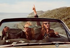 Karlie Kloss и Taylor Swift для журнала Vogue US