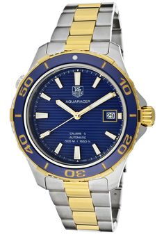 Tag Heuer Aquaracer Gold Watch http://edivewatches.com/product/tag-heuer-aquaracer-gold-watch/
