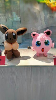 Pokemon Party, Pokemon Birthday, 9th Birthday, Balloon Centerpieces, Balloon Decorations, Balloon Ideas, Pokemon Balloons, Baloon Art, Old Barbie Dolls
