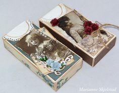 Make a Shabby Kleenex box Shabby Chic Crafts, Vintage Crafts, Vintage Paper, Altered Tins, Altered Art, Craft Tutorials, Design Tutorials, Handmade Crafts, Diy Crafts