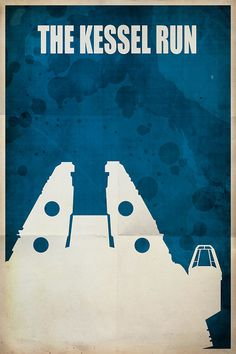 Star Wars Travel Poster by Jason W. Christman