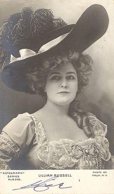 Lillian Russell 1903 by sunnybrook100, via Flickr