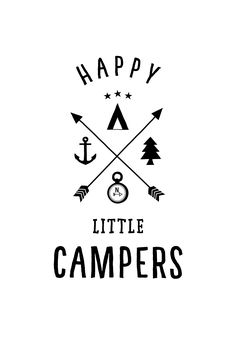 Instant Download Printable Iron On Transfer Happy Camper ...