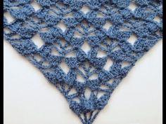 Crochet: Punto Fantasía # 24 en V