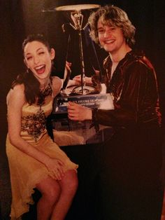Meryl and Charlie won their first of six straight national championships in 2009.