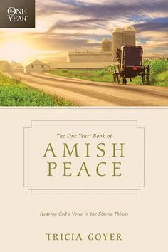 Tricia Goyer shares her fascination with the Amish in a way that will inspire and encourage believers to carve out more time in each day to listen to God and experience his presence. This daily devotional contains interesting facts about the Amish, recipes, and information about the way the Amish handle money, rear their children, and center their lives on faith in God.