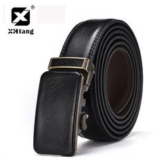 Retro Leather Belt Men