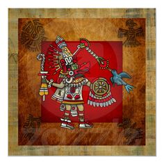Quetzalcoatl Posters from Zazzle.com