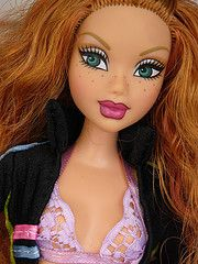 """My Scene Kenzie Doll (or """"Cricket"""" as I call my Kenzie doll. She looks exactly like the """"Cricket"""" character in Archie comics!)"""