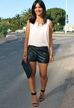 ShortsCombinados  , H en Camisas / Blusas, Lefties en Pantalones cortos, Zara en Sandalias de gladiador