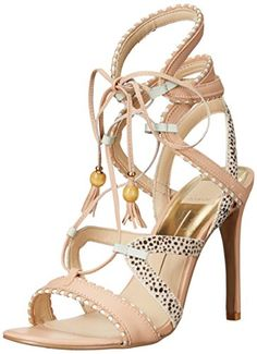 Dolce Vita Women's Haven Gladiator Sandal, Natural Multi, 8.5 M US ** To view further for this item, visit the image link.