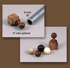 Small Spheres With a Tube Gouge