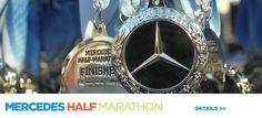 Mercedes Marathon - Birmingham, AL - My first ever half marathon. Great race, I have done it a couple times since! Walking Program, Great Run, Relay Races, Blue Shield, Boston Marathon, Mercedes Benz Logo, Marathon Running, Running Workouts, Half Marathons