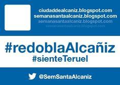 #redoblaAlcañiz #sienteTeruel