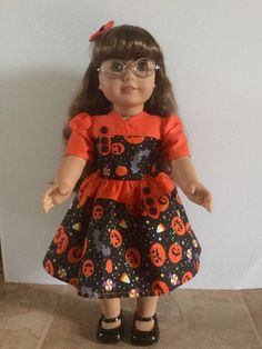 American girl Halloween dress. by AutumnLynnsTreasures on Etsy