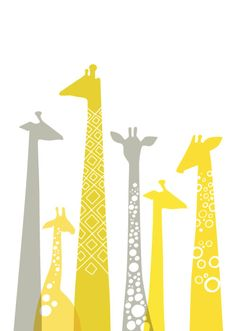 giraffe  for the yellow and gray nursery i will have one day :)