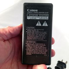 CANON CA-E7 6V OEM Charger Power Supply Adapter 6V 1.5A 1.1A