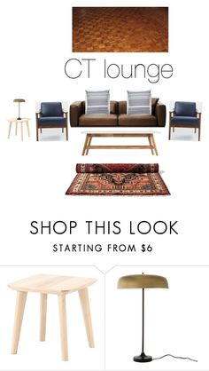 """""""CT loumge"""" by aneke-1 on Polyvore featuring interior, interiors, interior design, home, home decor, interior decorating and West Elm"""