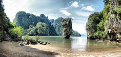 Phang Nga Bay, Andaman Sea, Thailand