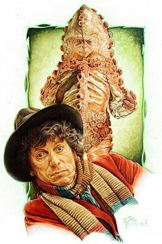 Fourth Doctor and Zygon