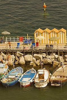 Marina Grande, Capri, Sorrento, Península de Sorrento, Provincia de Nápoles, Campania, Italia