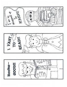{freebie} cute Halloween bookmarks:)