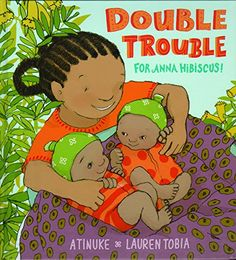 Anna Hibiscus welcomes not one but two new baby brothers in her latest picture book. It's going to be a big adjustment for everyone, especially Anna Hibiscus. Luckily, her family knows that while two babies mean double the trouble, it also means double the love.