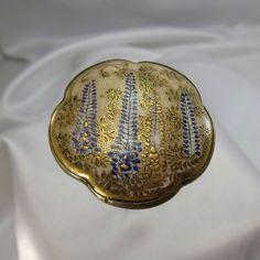 Antique VERY LARGE Satusma Wisteria Original Hatpin Hat Pin, NR #AntiqueHatpin