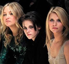 Aries: 3 Aries women! Kate Hudson, Kristen Stewart and Claire Danes