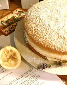 A Place for Tea: Italian Lemon Sponge Cake