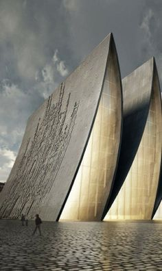 Cathedral fold design by Axis Mundi http://michellesarchitecture.blogspot.com