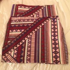 Charlotte Russe Tribal Bodycon Skirt Only worn ONCE! Adorable Aztec pattern. Worn once and has been sitting in my closet. Very cute, stretchy and form-fitting! Charlotte Russe Skirts Mini