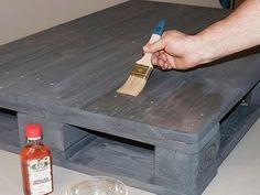 selbstgebauter barhocker aus europaletten st hle hocker b nke pinterest. Black Bedroom Furniture Sets. Home Design Ideas
